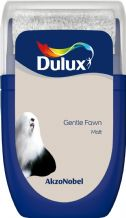 Dulux Gentle Fawn emulsion tester